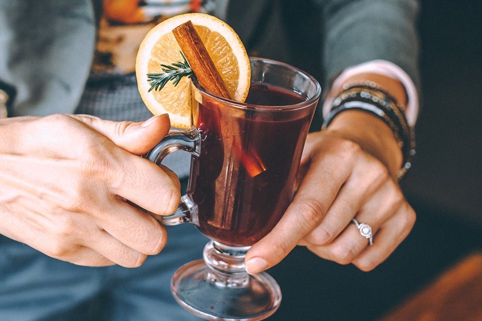 Our mulled wine is made by original recipe from Alps