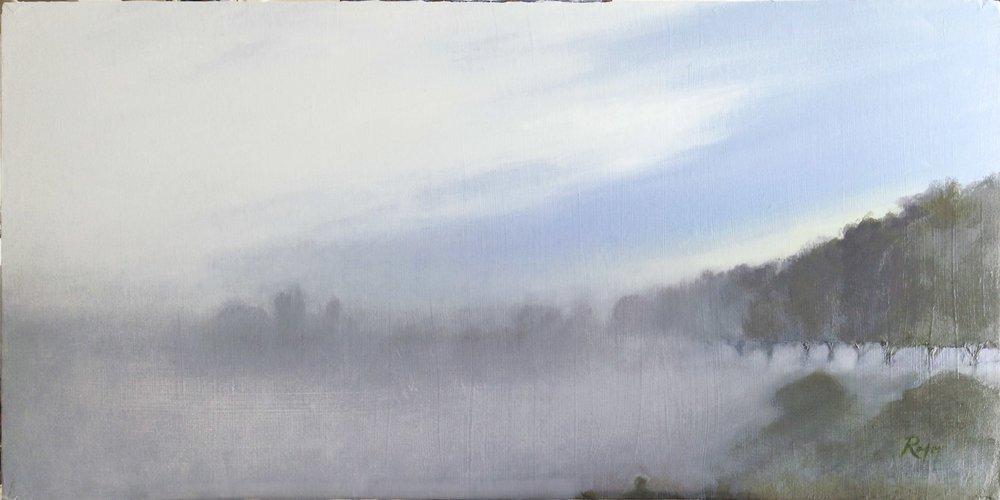 March Mist over Mandeville Park