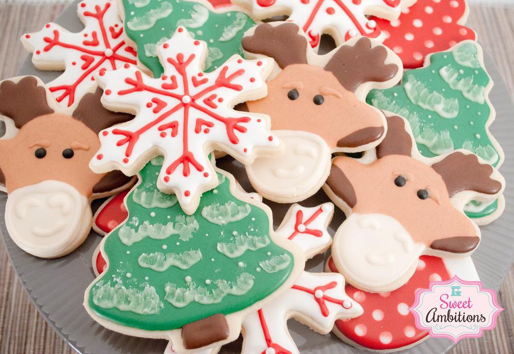 Christmas Cookies Sweet Ambitions