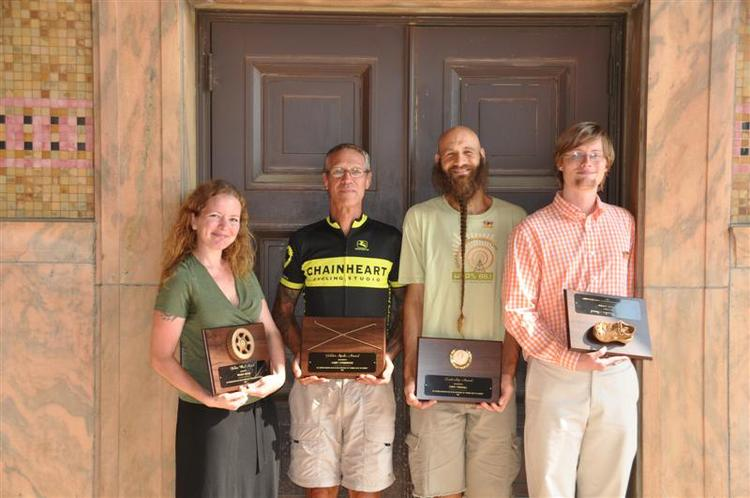 Golden Award Winners: Wendy, Gary, David and Anders.