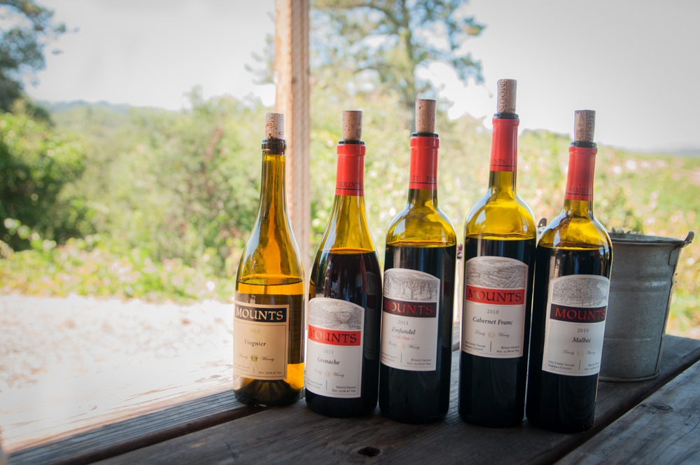 The Mounts line of wines is something special, just as much for their small batch craft as for the exquisite earthiness and the unpretentious taste on the palate. They are real and genuine much like their maker, who are wine growers first and vintners by passion.