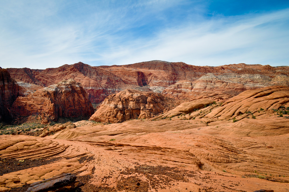 The dunes of Snow Canyon State Park in Southern Utah