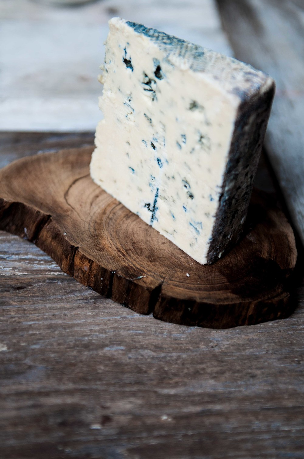 Castello Danish Blue cheeese, soft, mild with a hint of caramel.