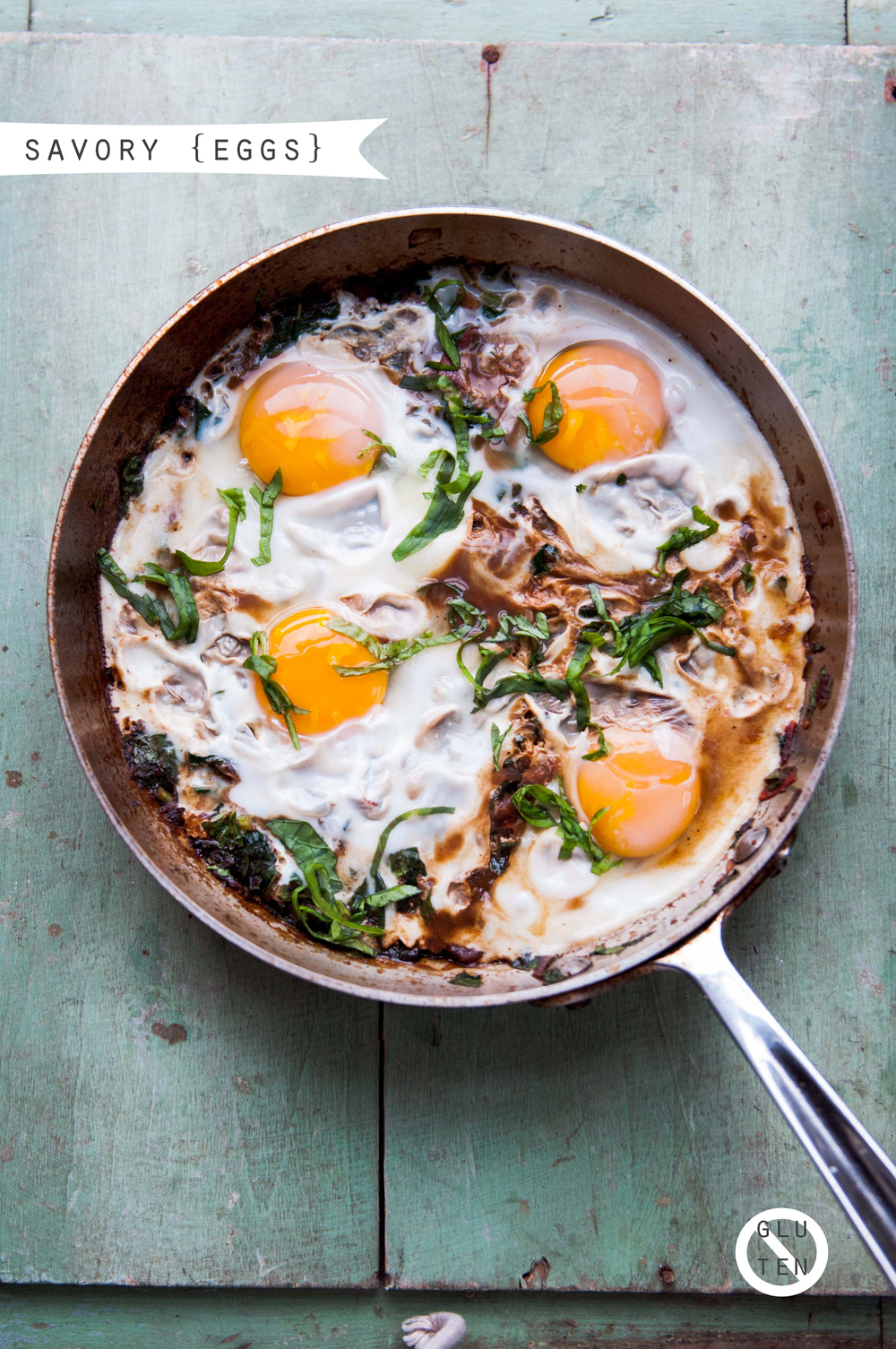 SOUR GREEN SHAKSHUKA