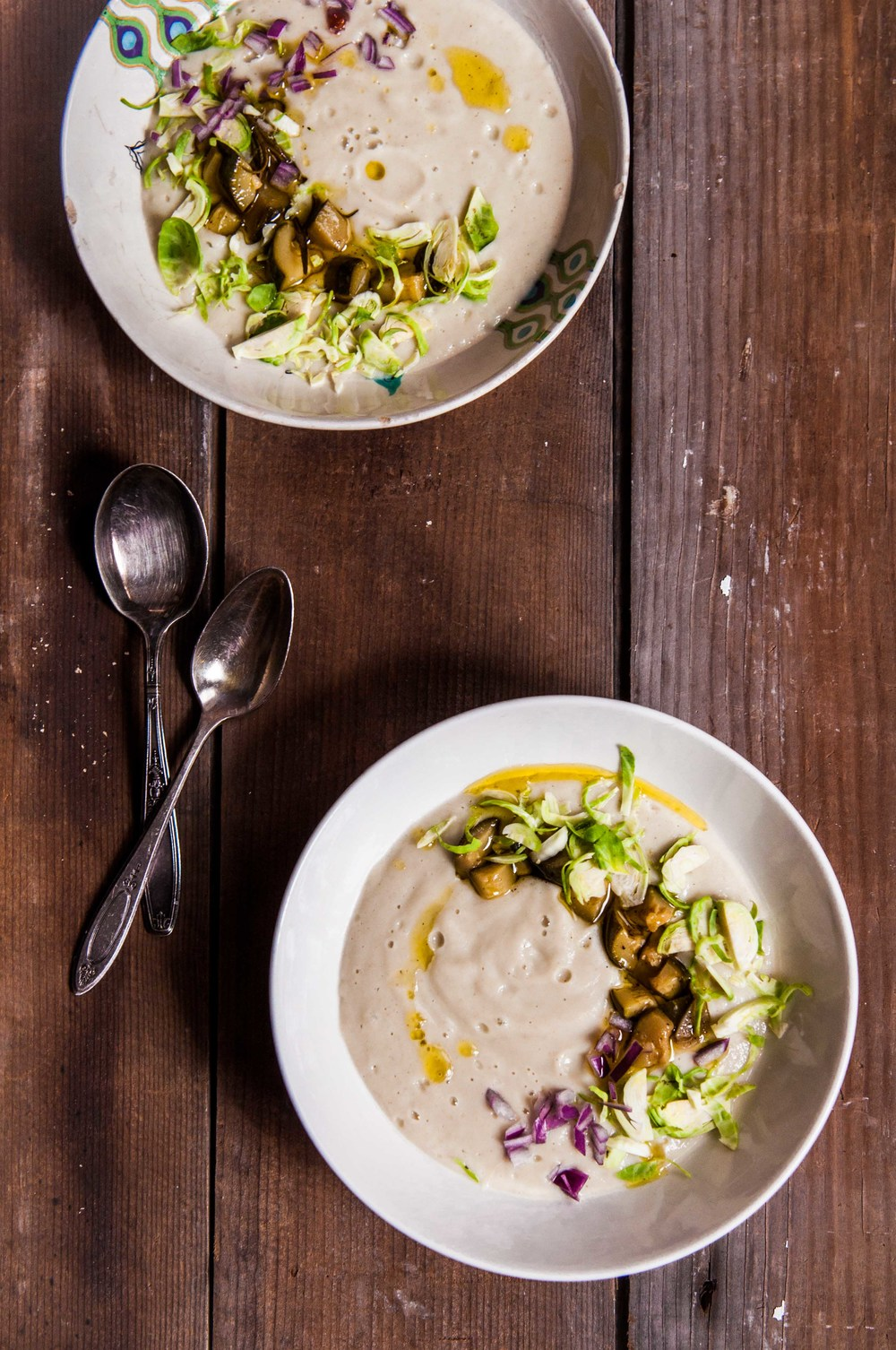 ROAST CAULIFLOWER AND FENNEL SOUP
