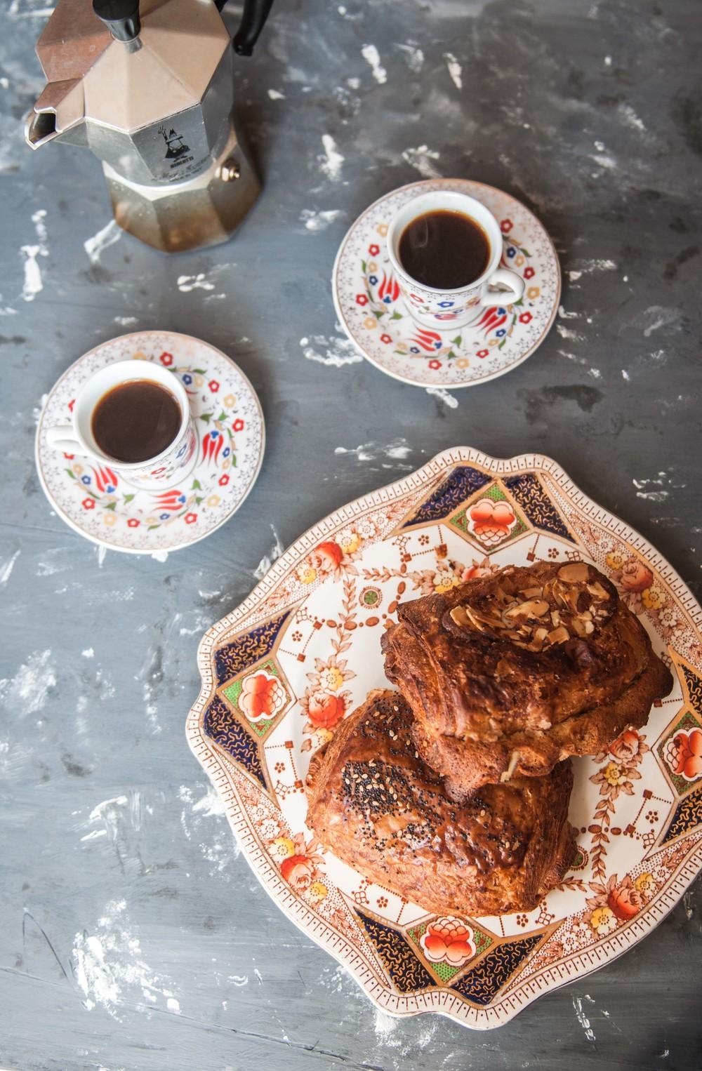 croissant + coffee