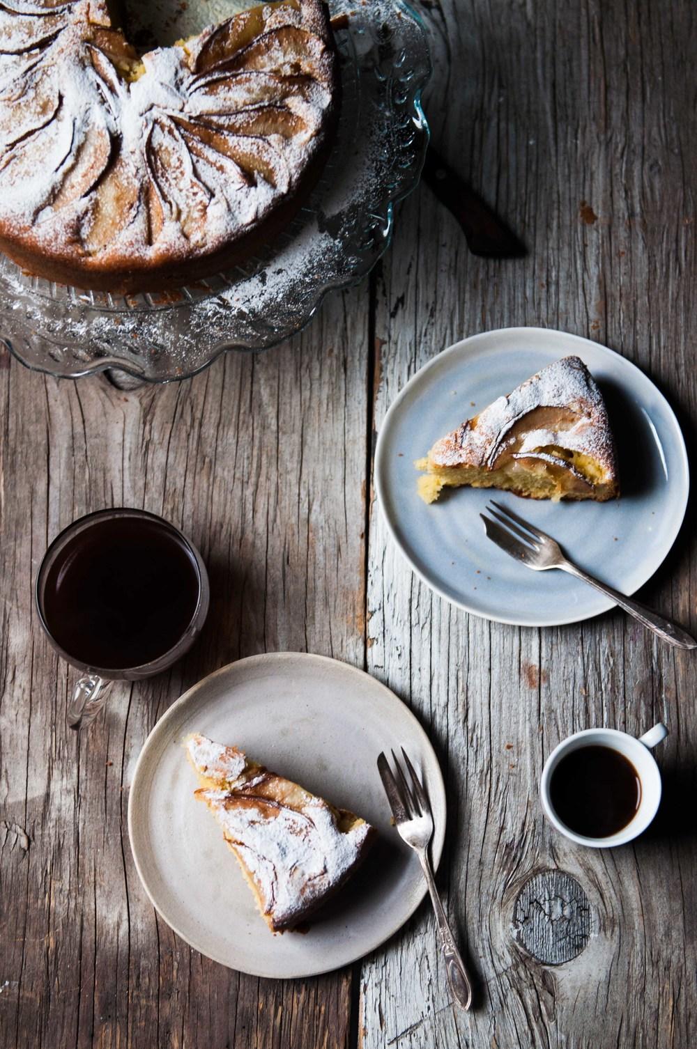 Florentine Pear Cake {Gluten Free}
