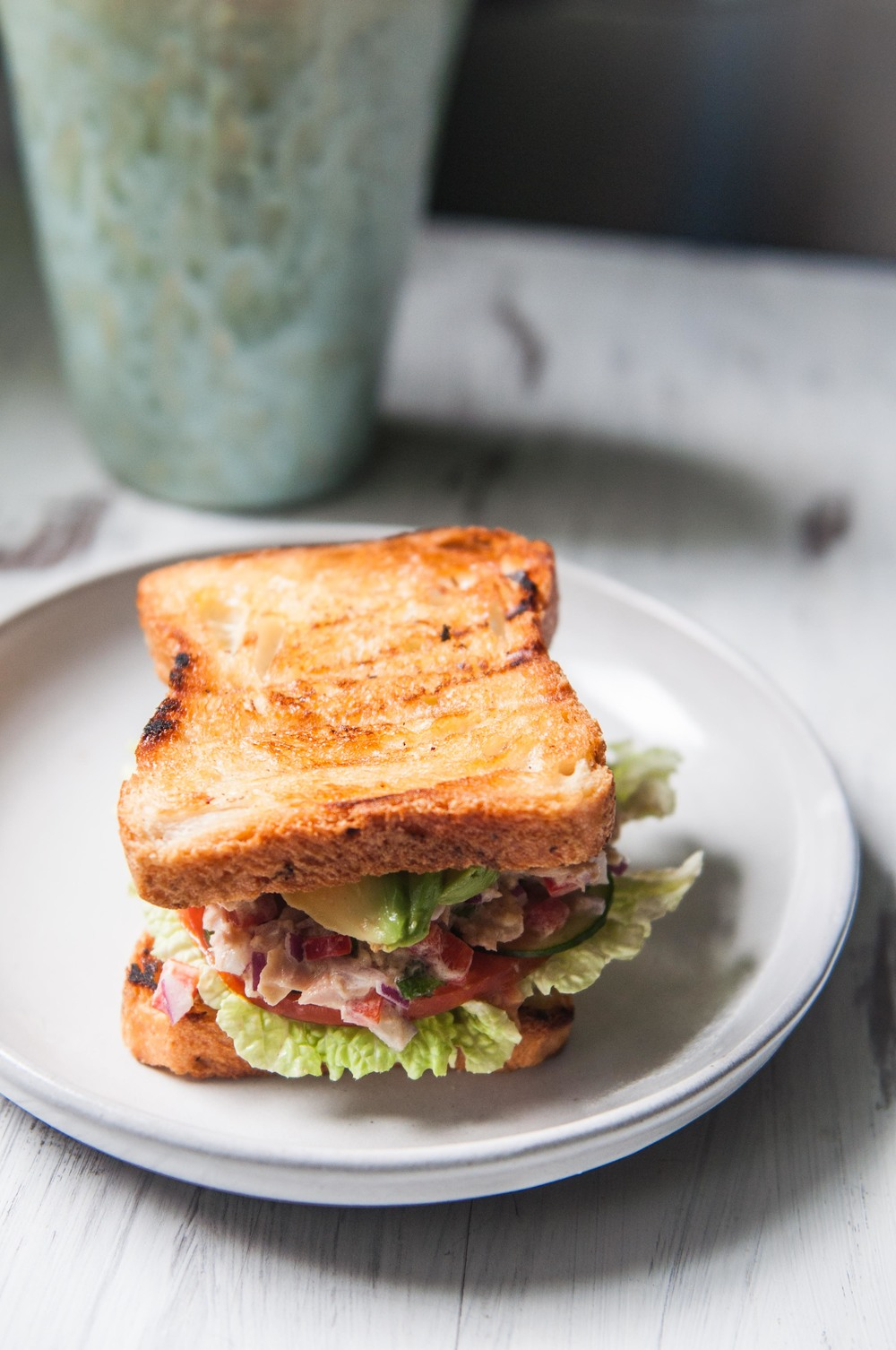 Tuna Salad Sandwich - FSK Blog