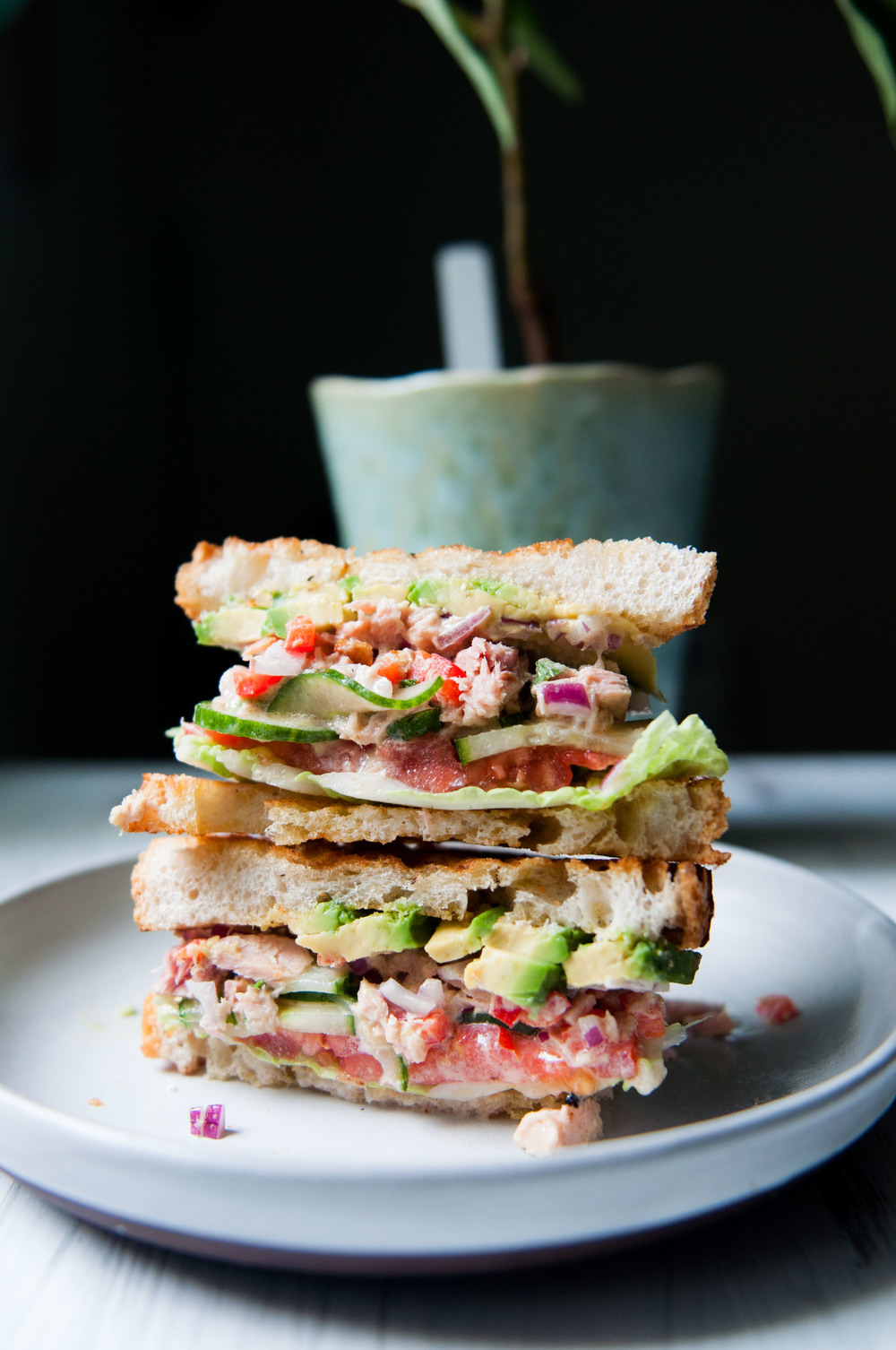 NOT-YOUR-AVERAGE TUNA SALAD SANDWICH