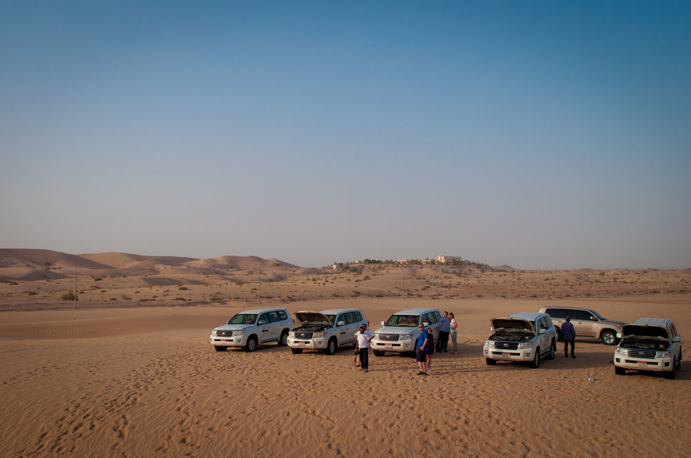 desert Safari entourage