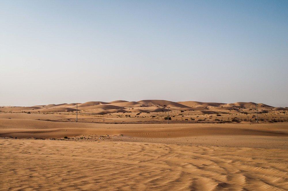 Dunes of Abu Dhabi desert