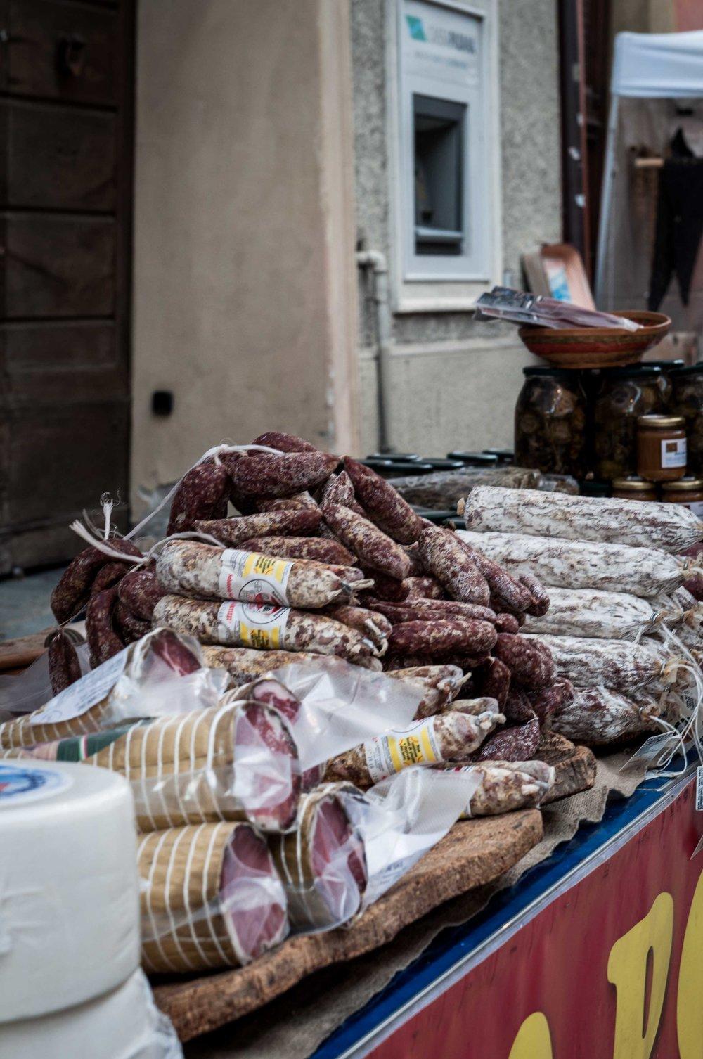 Sardininan Sausages