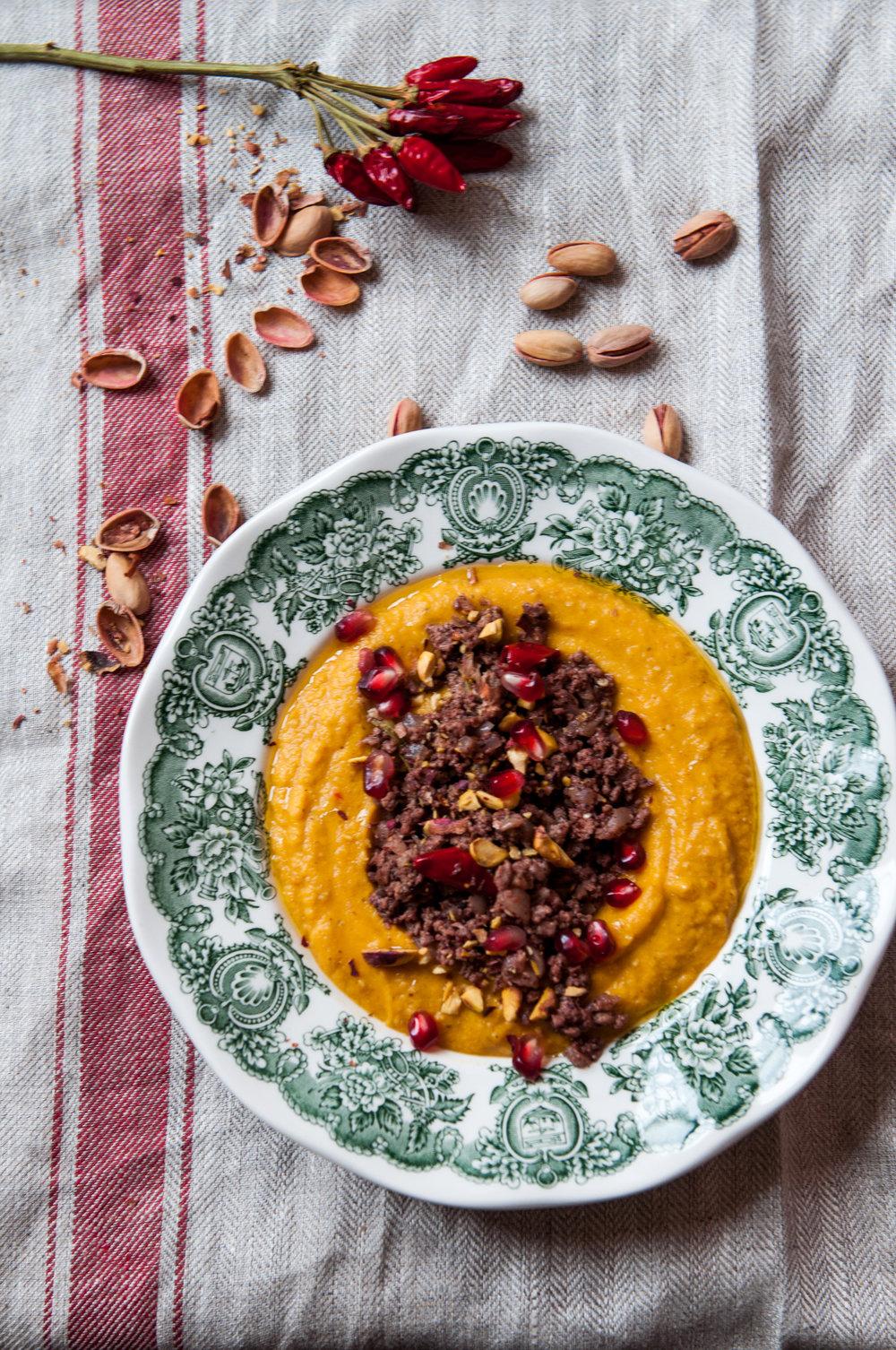 Violina Pumpkin Lentil Red Hummus