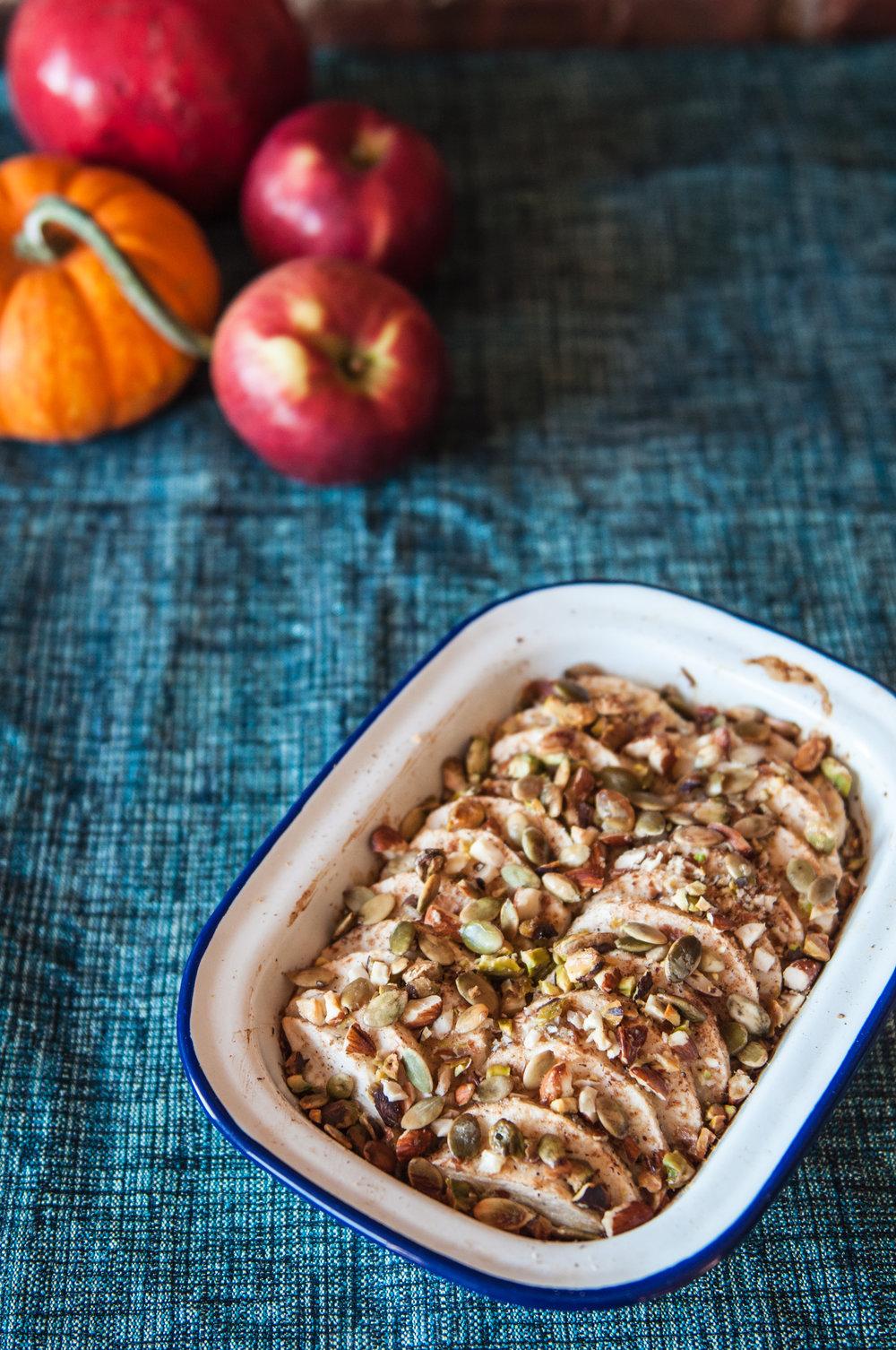 baked Apple Spice Oatmeal
