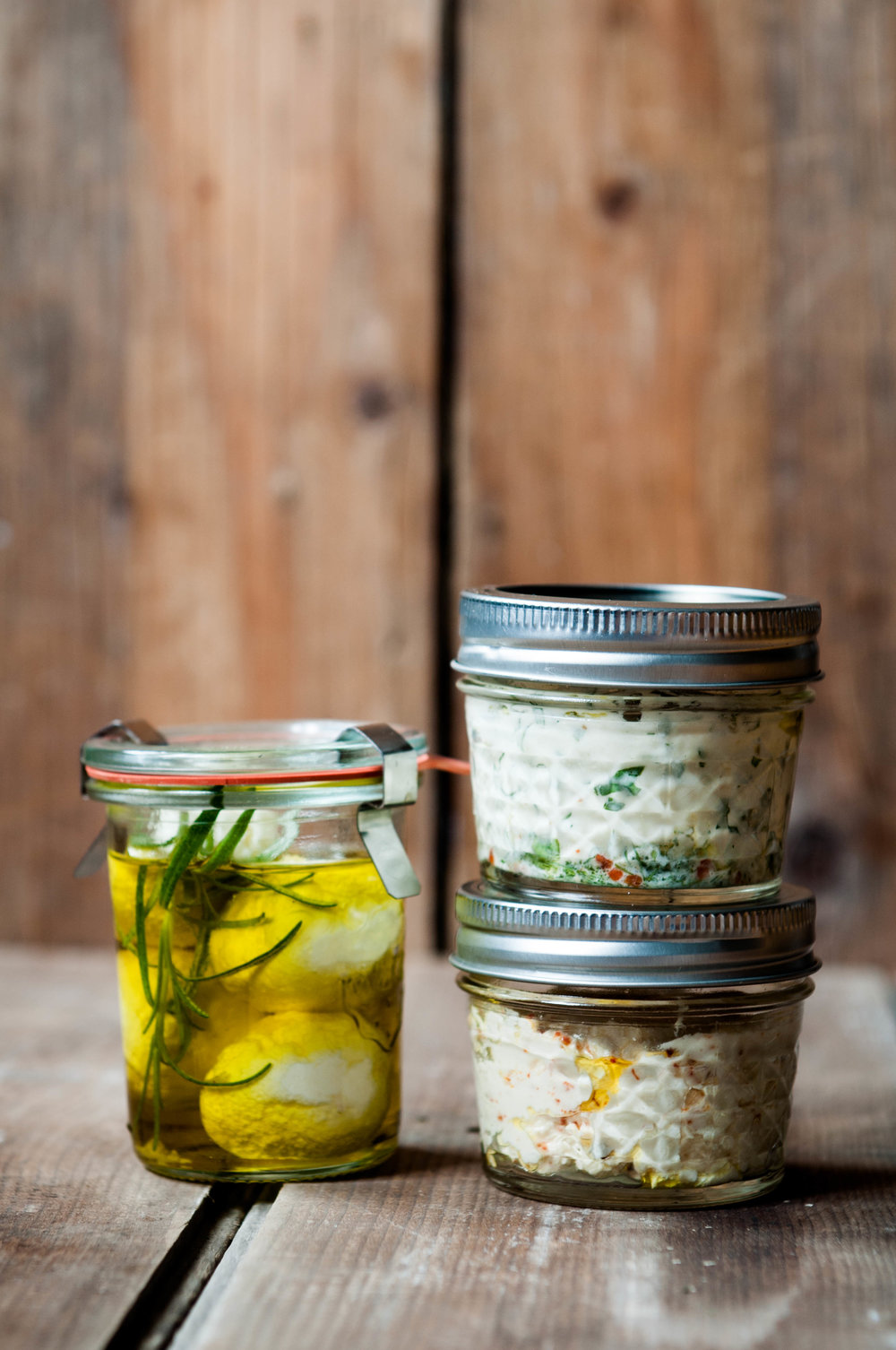PRESERVED LABNEH THREE WAYS