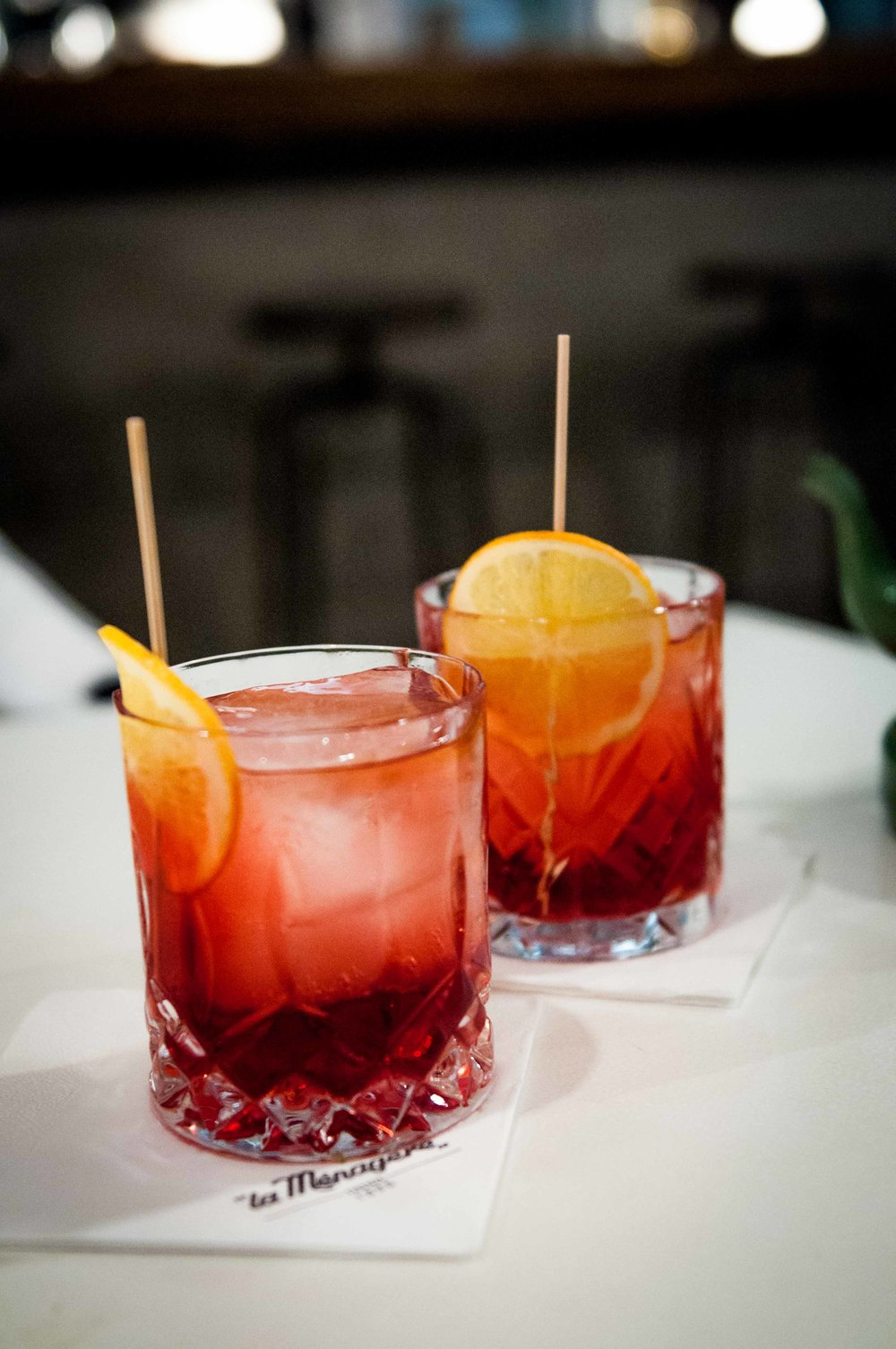 Cin cin! Nothing like the classic - The Italian Negroni :)
