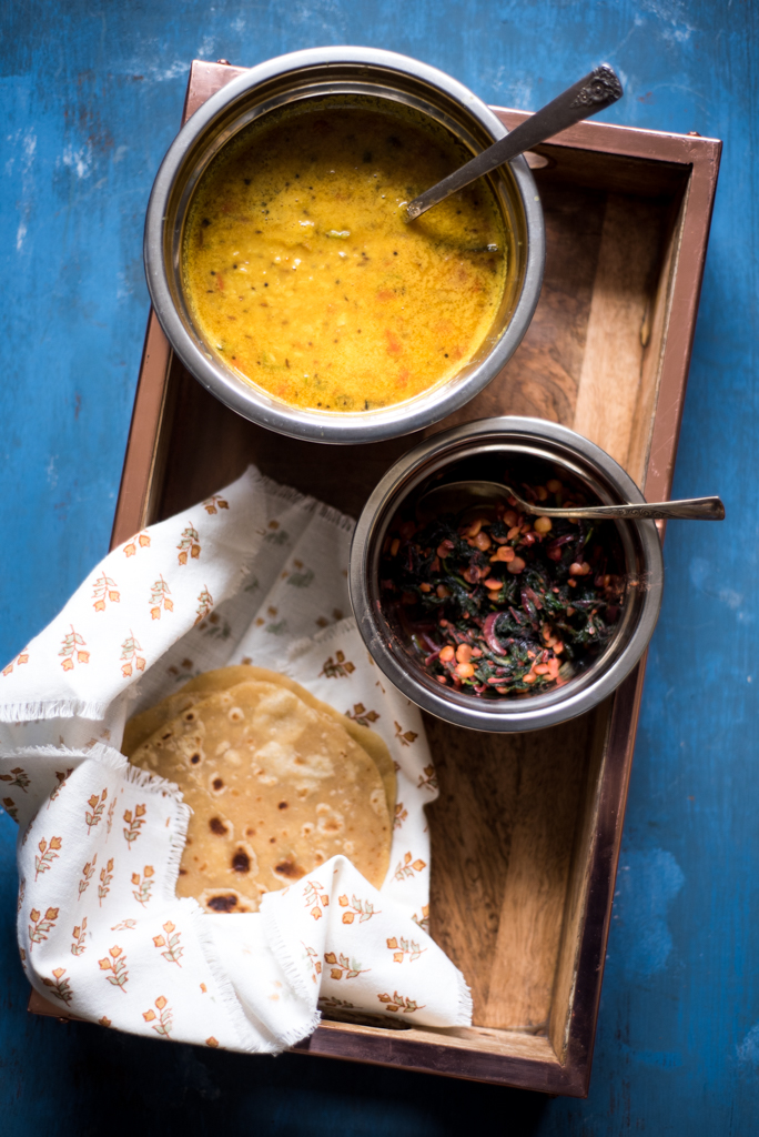 Yellow-Dal-Roti-and-Red-Greens.jpg