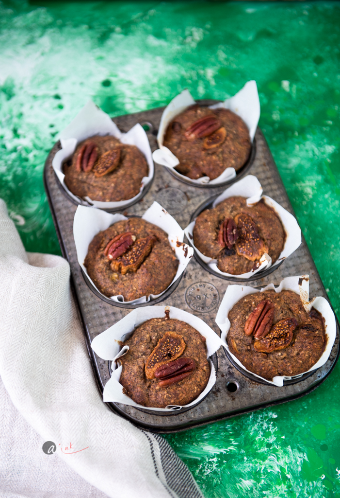 BUCKWHEAT MUFFINS WITH DRIED FRUIT -
