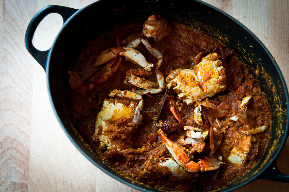 SPICY CRAB CURRY -