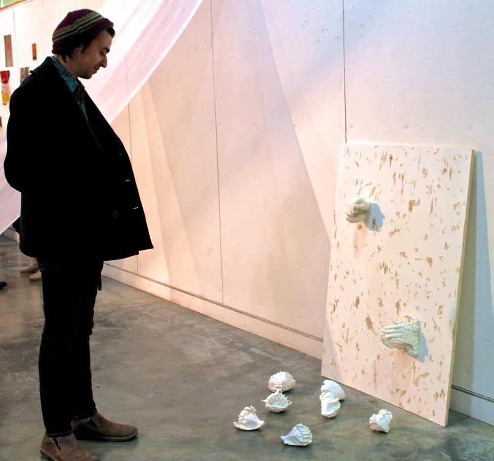 Thomas Batuello '17 viewsMalia Haines-Stewart's sculpture