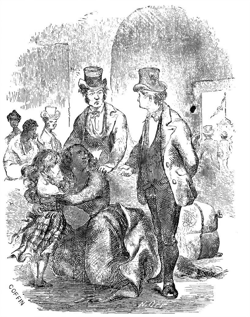 An illustration from the 1853 edition of Twelve Years A Slave, by Solomon Northrup via Wikimedia Commons
