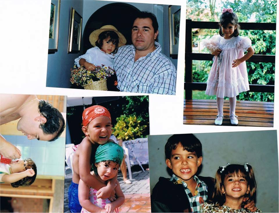 SLC4IA keeps families together: Manuela shared these decade-old memories of she and her siblings with their father.