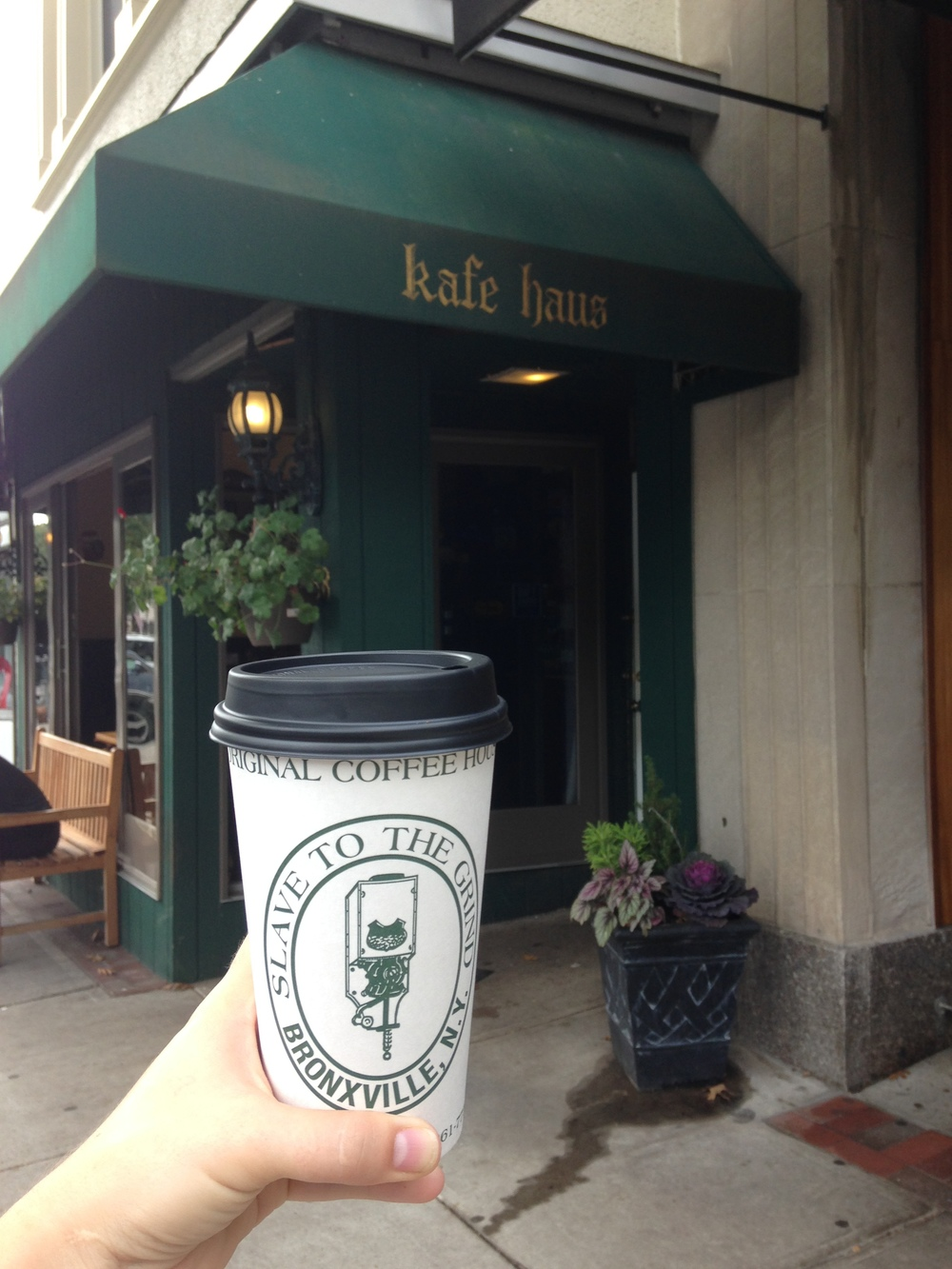 Slave to the grind is one of the traditional coffee-house haunt of Sarah Lawrence Students. Photo by Mary Katherine Michiels-Kibler '17