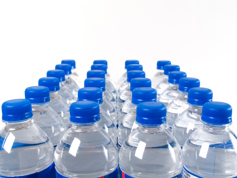 The United states spends $11.8 billion per year on bottled water. image via foodnavigator-usa.com.