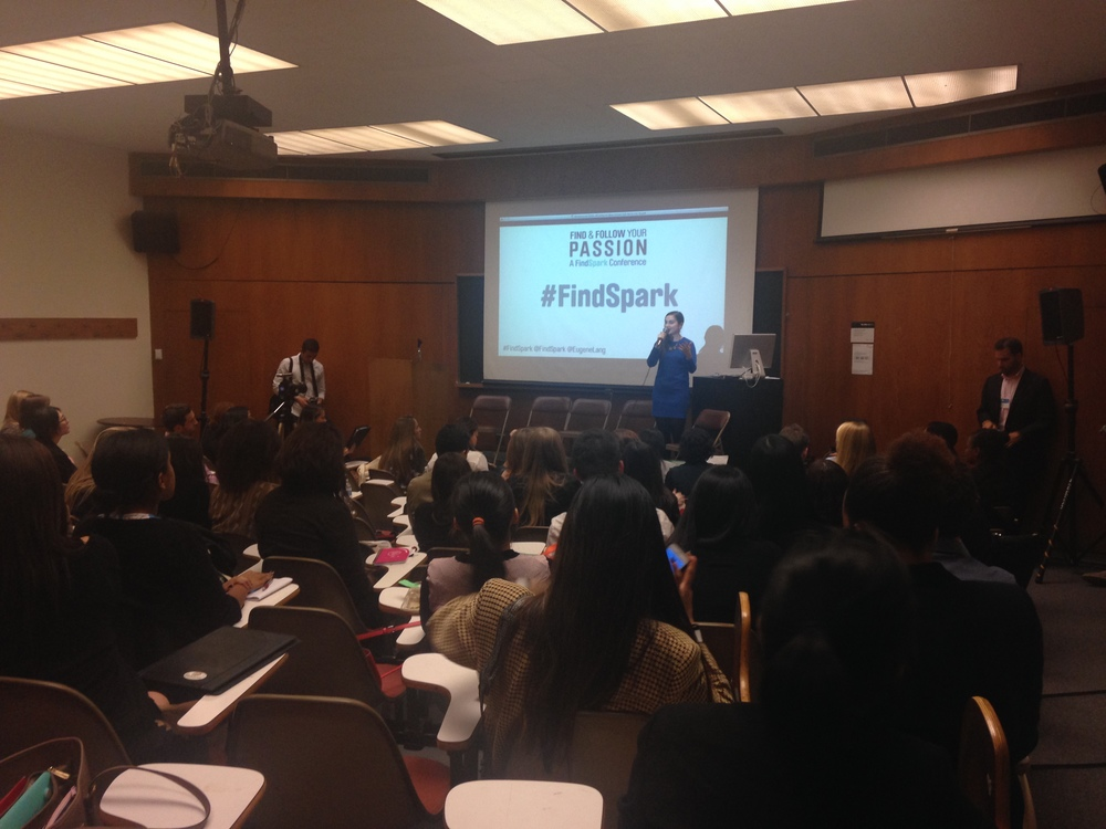 THE  FINDSPARK FOLLOW YOUR PASSIONS CONFERENCE HAD EXPERTS LEAD WORKSHOPS TO HELP ATTENDEES FOCUS ON BUILDING SUCCESSFUL AND FULFILLING CAREERS. PHOTO BY MARY-KATHERINE MICHIELS-KIBLER '17.