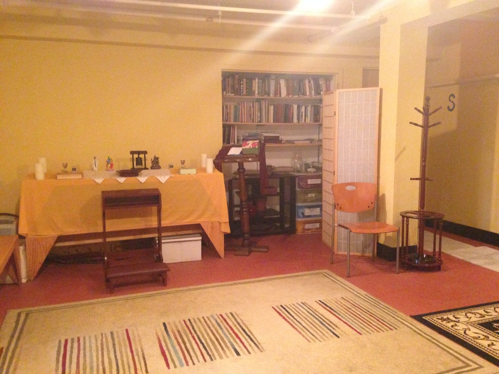 The Spiritual Space, located in Bates, features a library of religious and spiritual texts. Photo by Janaki Chadha '17