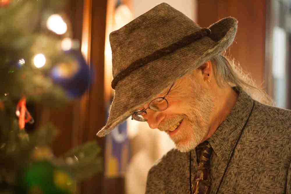 Professor Bill Shullenberger at a Sarah Lawrence holiday party a few years ago.   Photo courtesy of Bill Shullenberger.