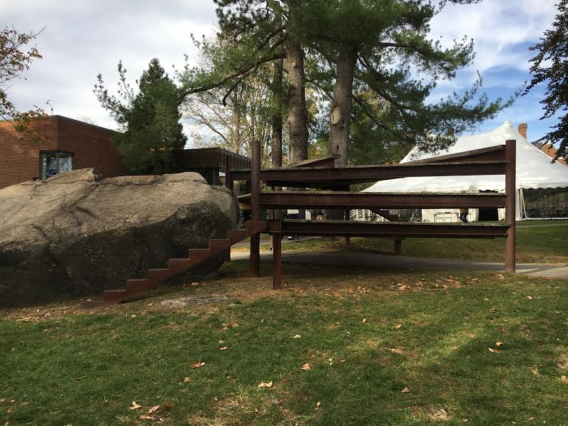rock pine station, commonly referred to as The yoko ono. photo credit: andrea cantor '17