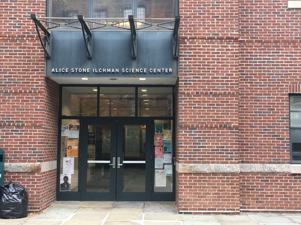 The Alice Stone Ilchman Science Center. Photo credit: Andrea Cantor '17
