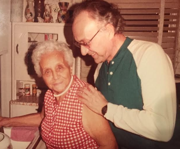 Photo of Bertha Glantzman and Abraham Glantzman. Courtesy of the McInnis family.