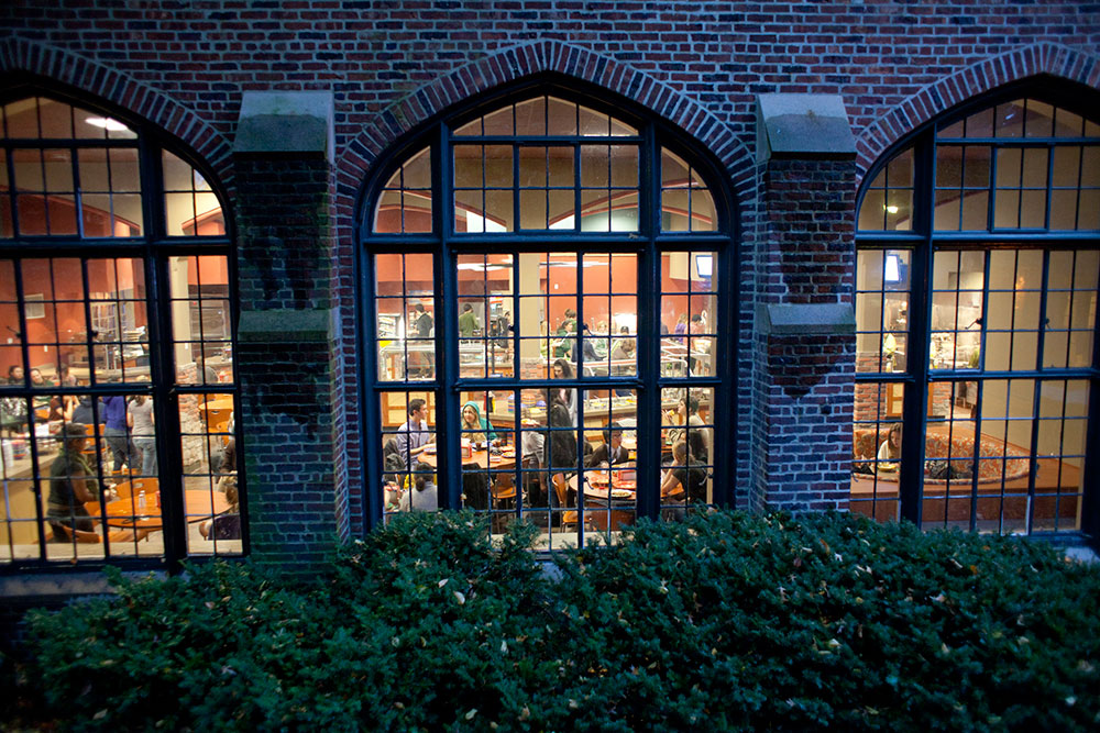 Bates Dining Hall, which has not been open for dinner on weekends this academic year. Photo courtesy of the Sarah Lawrence website.