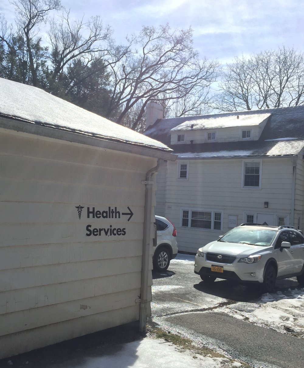 "The Sarah Lawrence Health and Wellness Center, known as ""Lyles House"" Photo Credit: Amali Gordon-Buxbaum"