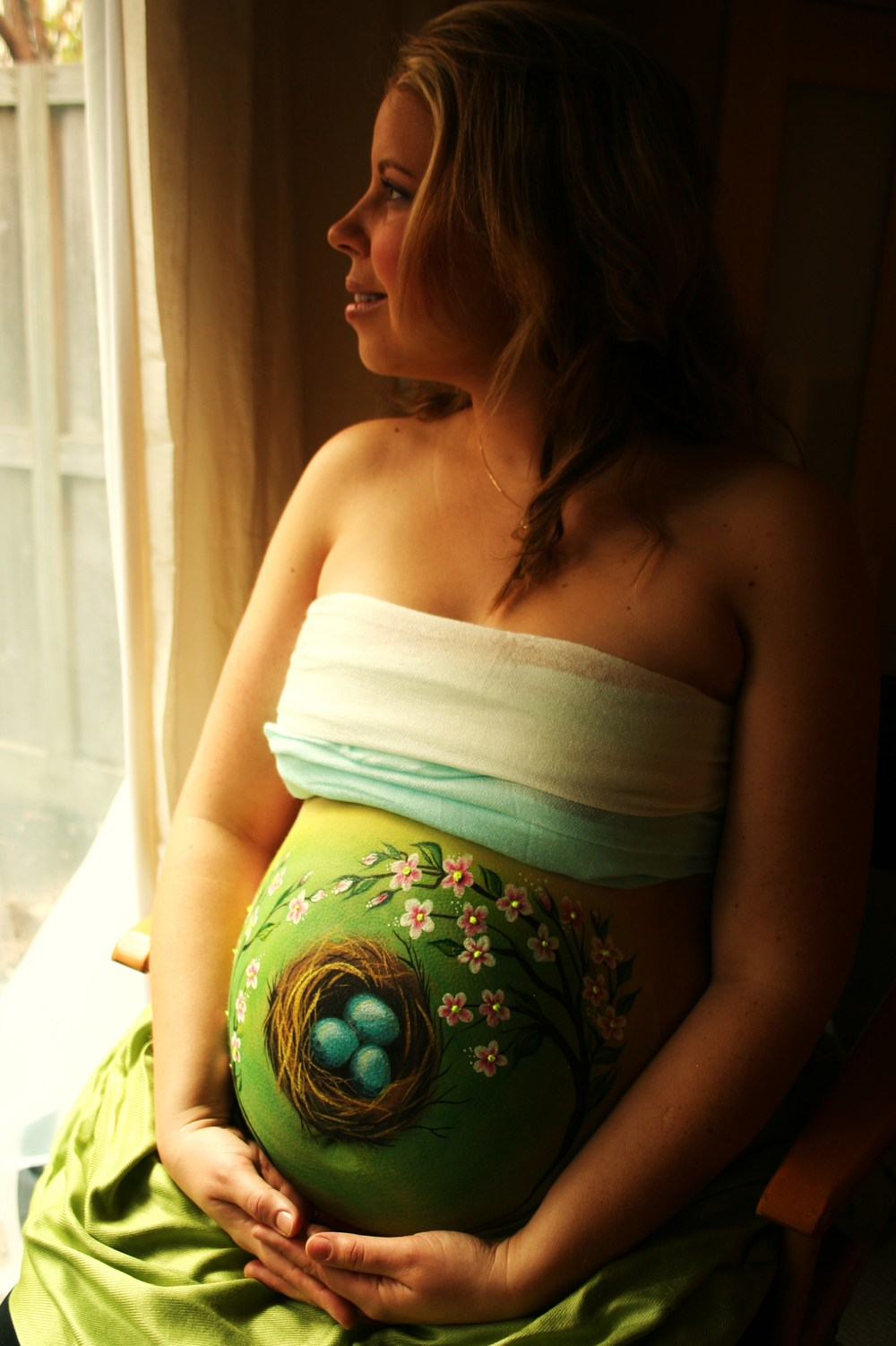 Pregnant Belly Painting- Tatyana's Face and Body Art-4.JPG