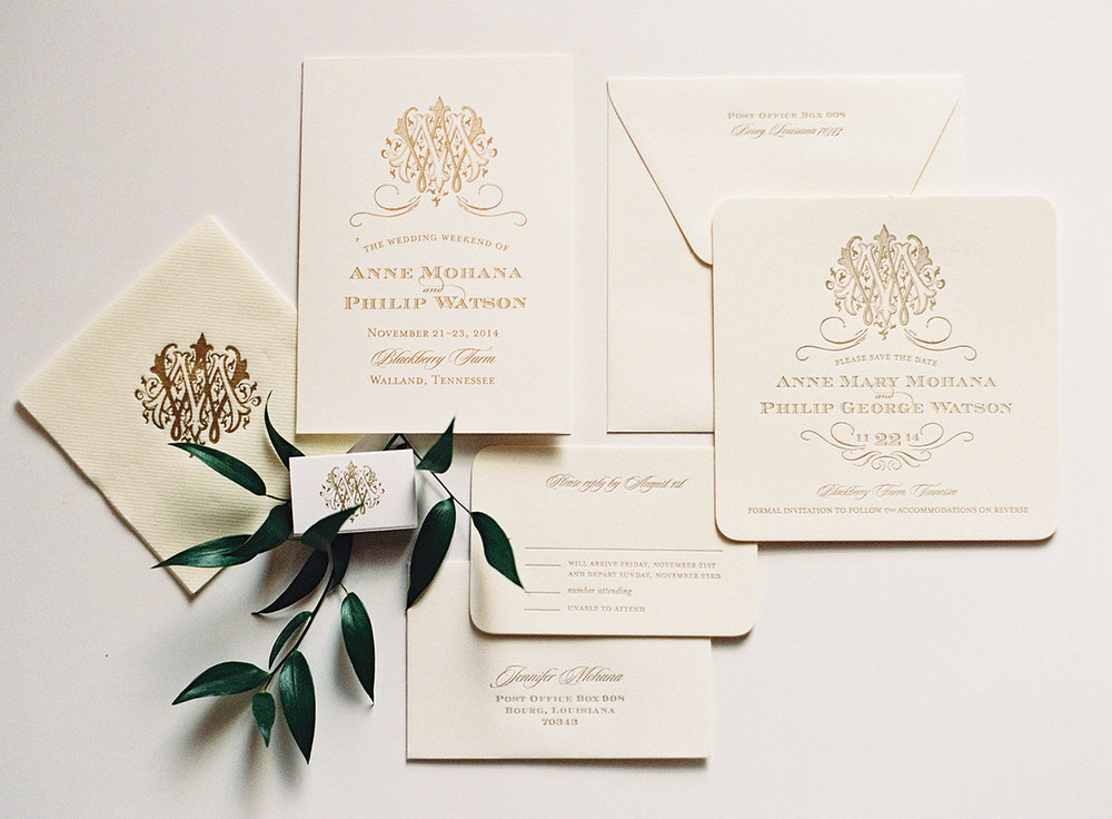 classy invitation