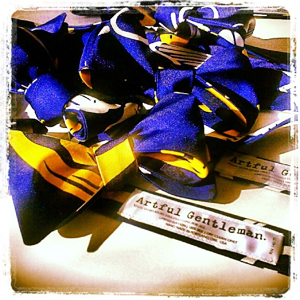 Exclusive HRC bowties by Artful Gentleman | Love. Equality. Marriage.