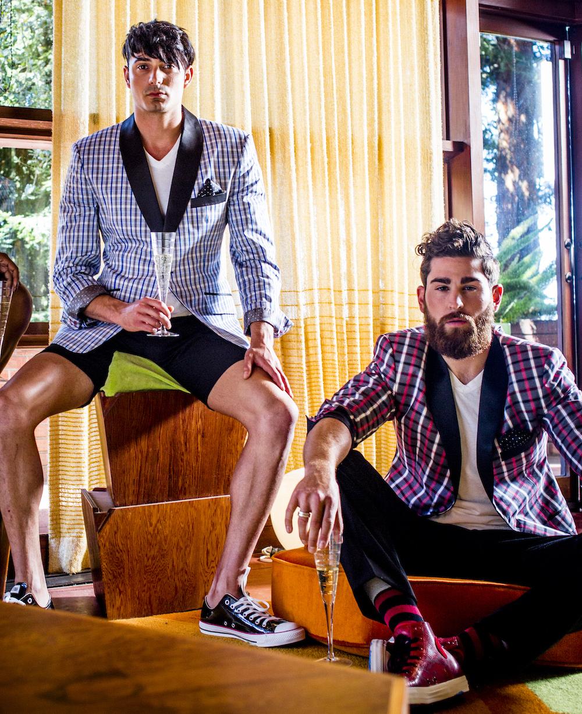 Madras+shorts=sprezzatura