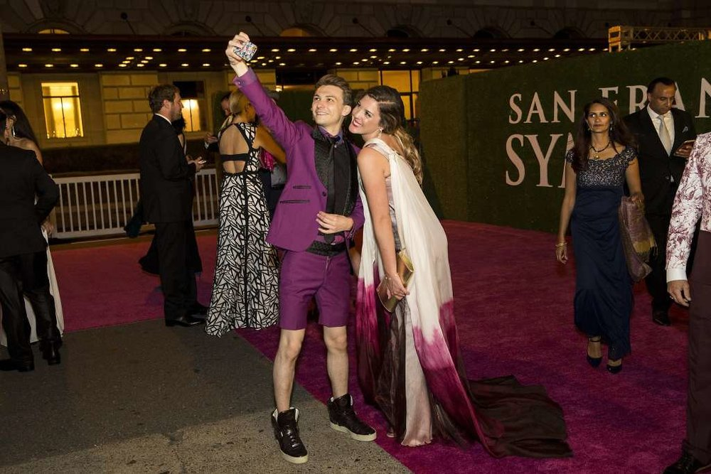 "SAN FRANCISCO CHRONICLE -- ""Hot Times at the San Francisco Symphony Gala"" As guests ascended the stairs of Davies Symphony Hall for the San Francisco Symphony's opening-night gala on Wednesday, Sept. 7, JAKE was everywhere you turned. [ Read More... ]"