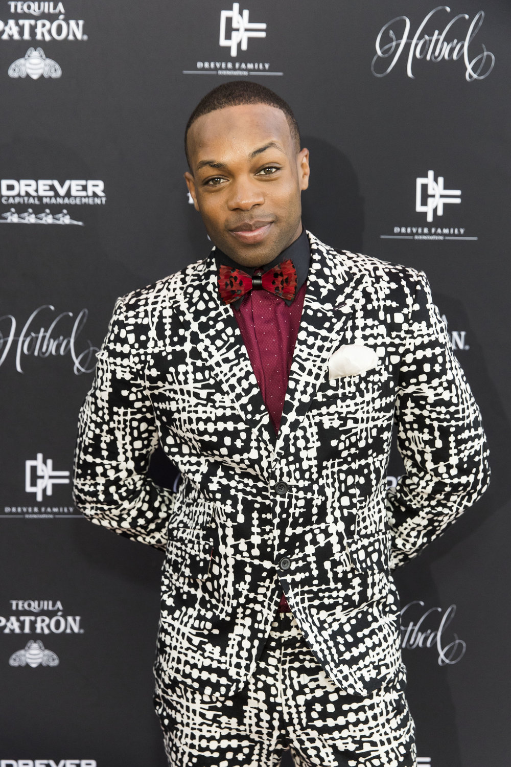 Singer/artist Todrick Hall wearing JAKE; Photo courtesy of Drew Alitzer