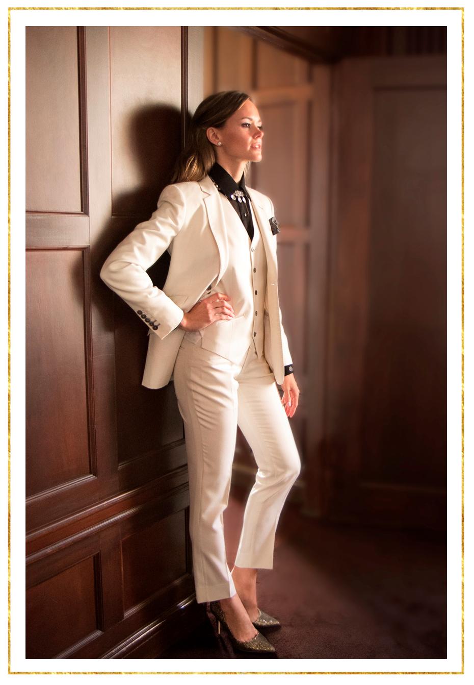The Paola 3 Piece Single Breasted Tuxedo
