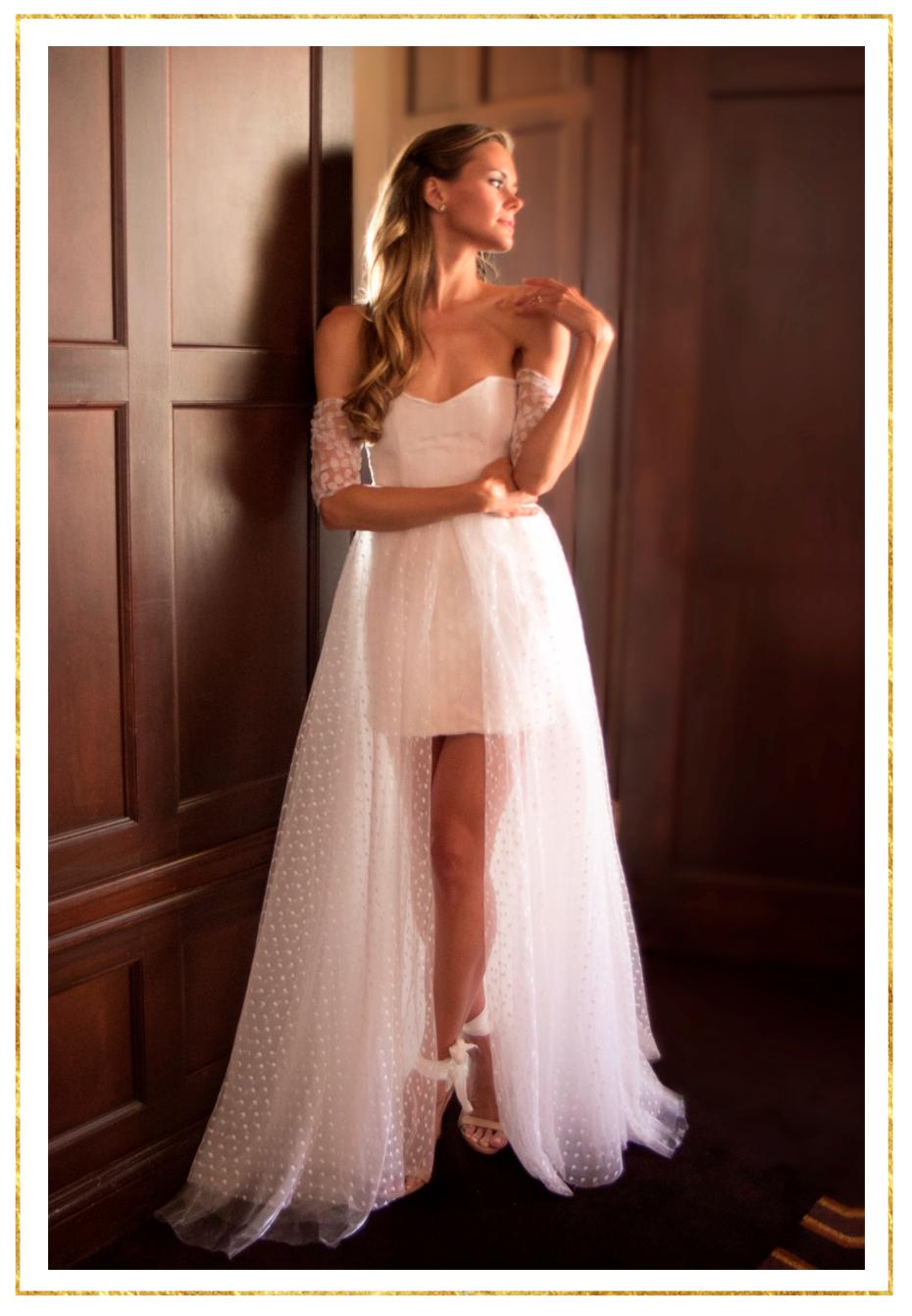 The Barberini Sweetheart Mini Dress