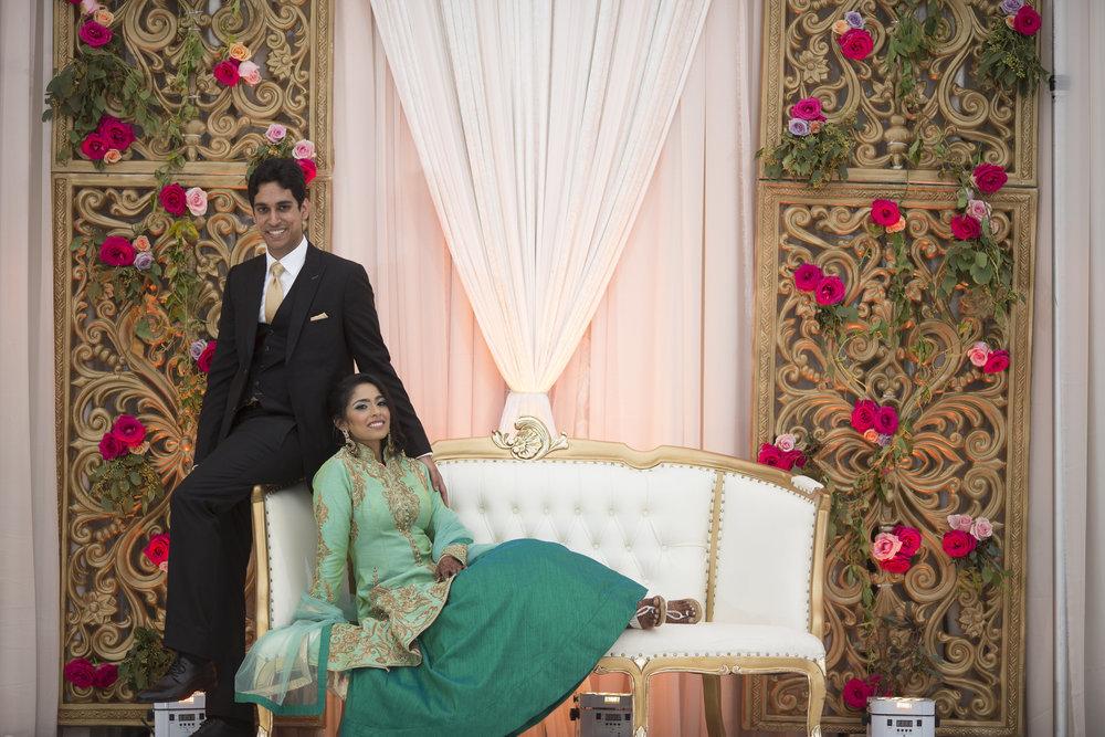 Priam Mukundan and Rucha Heda