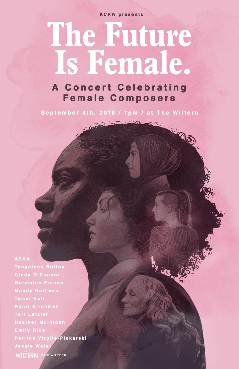 The Future is Female. - A Concert Celebrating Female Composers