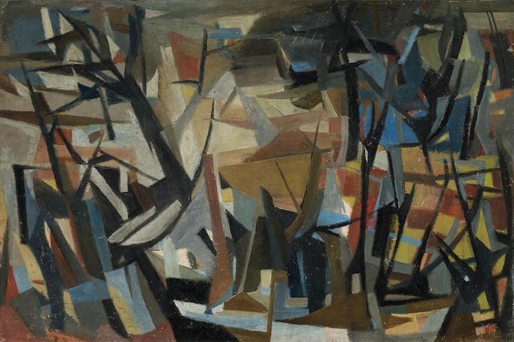 Louise Henderson Landscape 1960