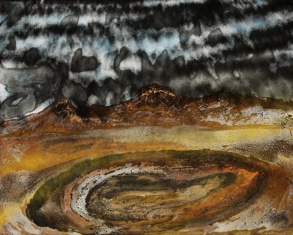 SIDNEY ROBERT NOLAN (1917–92) Storm over Pilbara V 1982
