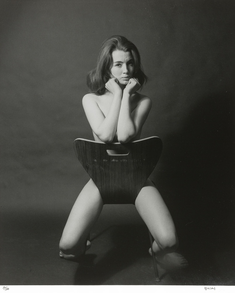 Lewis Morley Christine Keeler 1963 silver gelatin photograph