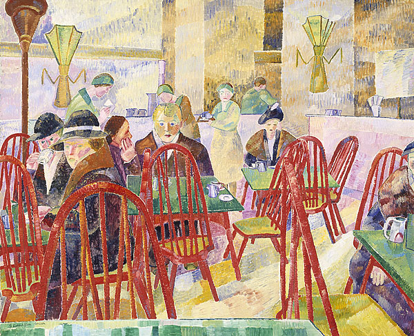 Grace Cossington Smith The Lacquer Room 1936 oil painting art